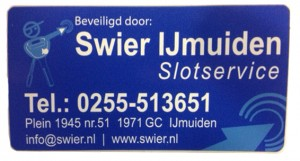 Sticker Swier IJmuiden