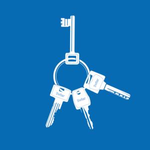 Webwinkel: Sleutels