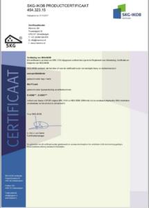 mul-t-lock certificaat